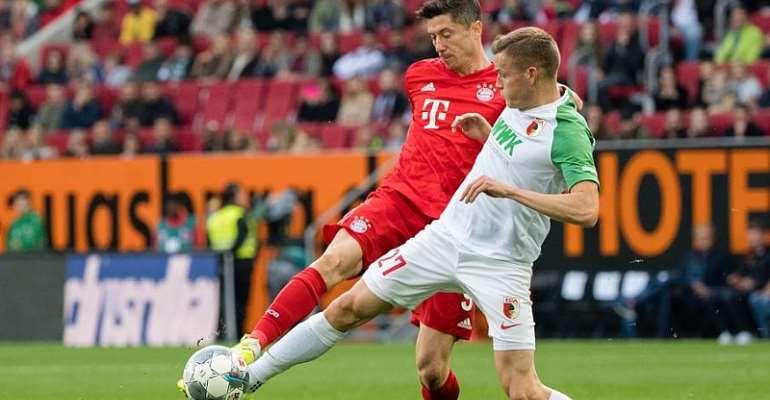 Bundesliga: Bayern Slip Up Again As Augsburg Grab Last-Gasp Leveller