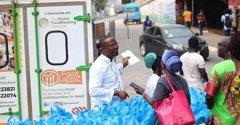 Food For All Africa Advocates For Food Banking In Ghana On UN World Food Day 2020