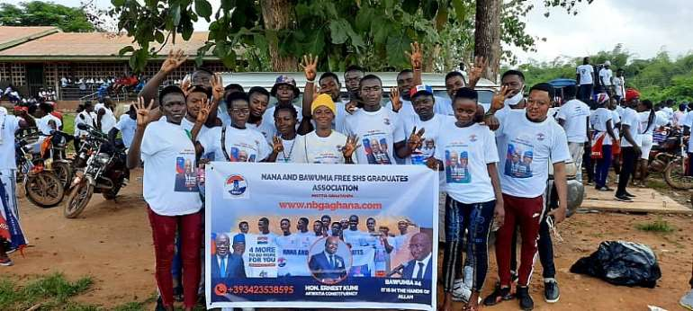 Free SHS Graduates Gather To Campaign For NPP