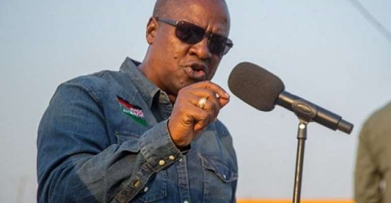 Akufo-Addo Has Dashed Your Jobs To His Party Supporters – Mahama To Galamseyers