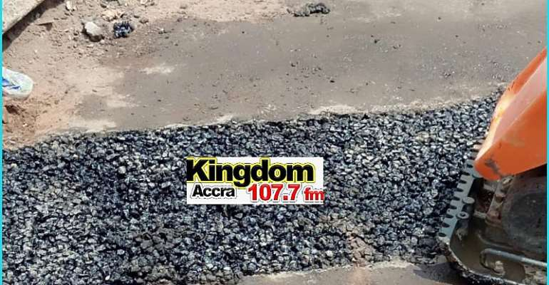 Kingdom FM Gets Results As Work Begins On Atomic Flyover Road [Photos+ Video]