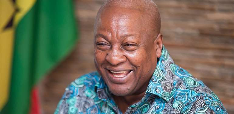 They Called Me Commissioner General, Now Akufo-Addo Has Become The Sod-Cutting General – Mahama