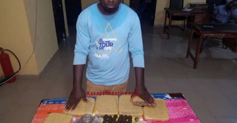 Journalist Grabbed For Unlawful Possession Of Narcotics