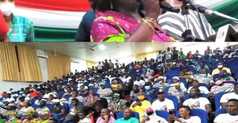 NDC Will Transform Ghana's Human Resource Base — Jane Naana