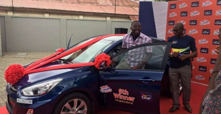 Engineer Drives Away Last Car In Coral's 'PAINT YOUR DREAM INTO REALITY' Promo
