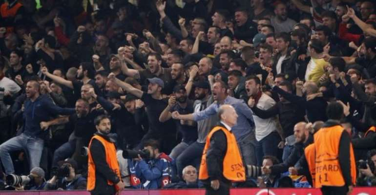 Roma Charged By Uefa For 'Monkey Chants' At Chelsea