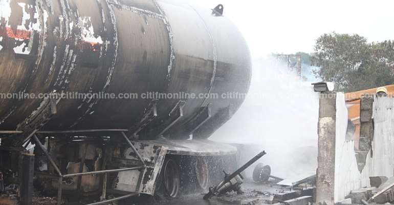 Atomic Gas Explosion: Tanker Driver Reported Dead