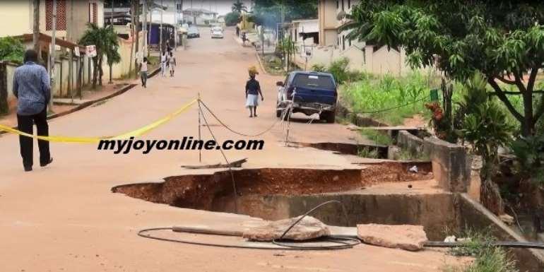 Angry Kwadaso Residents Threaten To Close Dilapidated Bridge