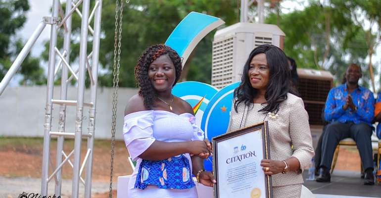 Level 300 Student Of GIJ Mhame Twebah Awarded For 'Outstanding Video Documentary'
