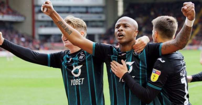 Andre Ayew Delighted After Scoring Third League Goal Of The Season
