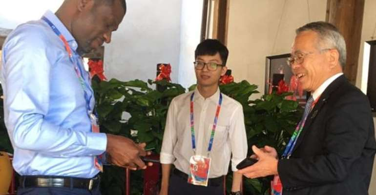 Creative Arts Council President Attends Film Festival In China