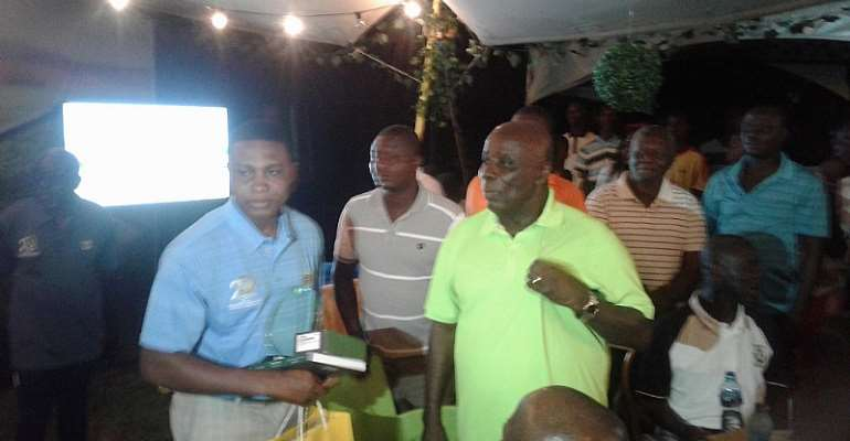 Chris Mbii Wins Okyenhene Invitational Golf At Akyem Tafo