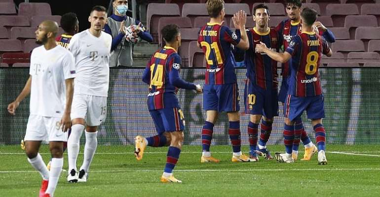 UCL: Messi Equals Another Record In Barcelona Win Against Ferencvaros