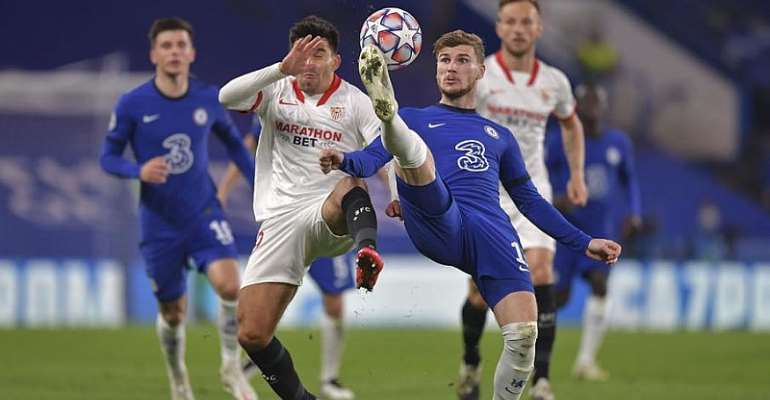 UCL: Chelsea Frustrated In Home Draw With Sevilla