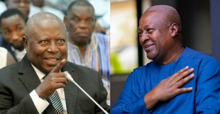 I'll Warn My Appointees Against Messing With Amidu – Mahama Promises