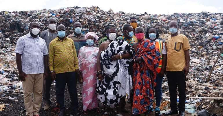 Clearing Of Dumpsites In Western Region: Assakae Chief, Residents Commend Government