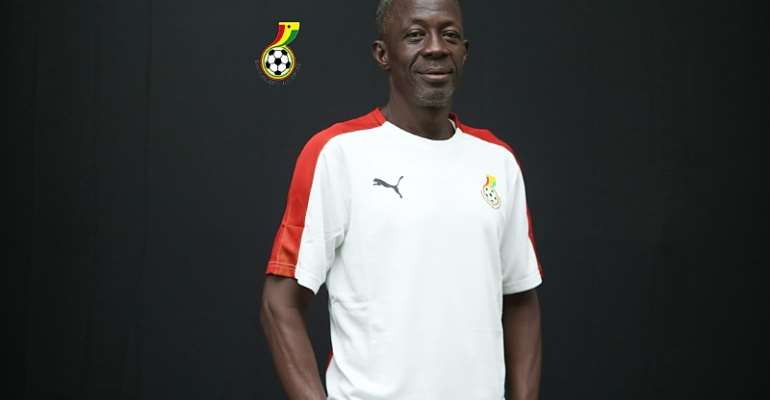 Ghana U-17 head coach Ben Fokuo