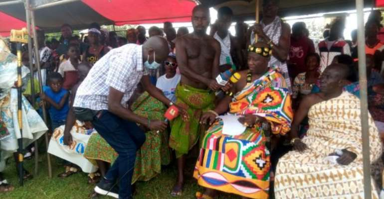 My Son Is Beneficiary Of Free SHS — Kwapong Chief Lauds Akufo-Addo