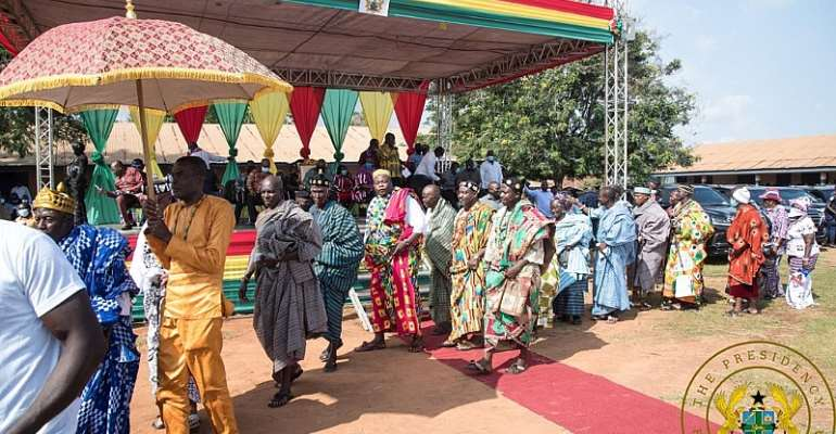 V/R: You're A Competent, Compassionate, Visionary Leader – Chief To Akufo-Addo