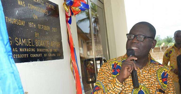 Wassa Akropong Gets ECG Business Centre To Serve Customers