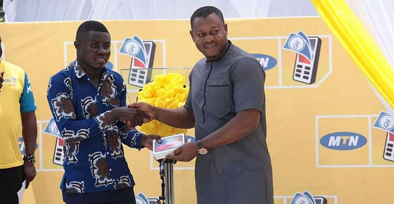 MTN Presents Cash, iPhone X, Others to MoMo Winners