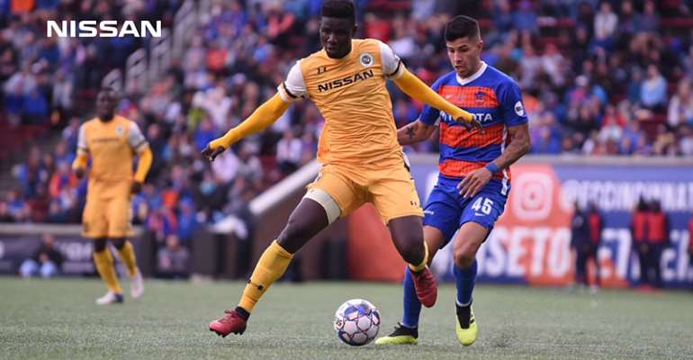 Ropapa Mensah stars as Nashville SC season end in play-offs defeat to FC Cincinnati