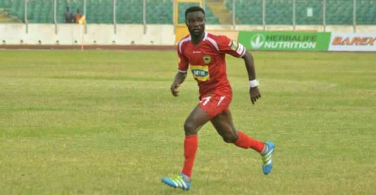 Seth Opare part ways with Asante Kotoko