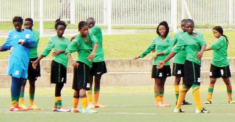 2018 AWCON: Zambia's Shepolopolo To Camp In Nigeria