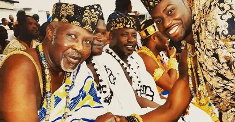 The late Fred Fred Attoh and Chris Attoh