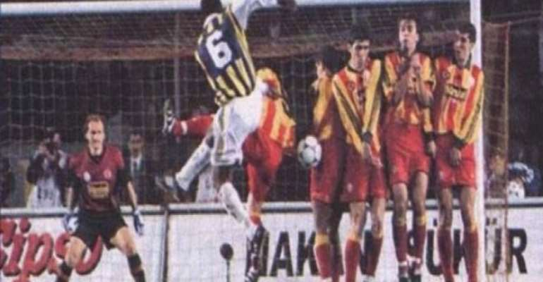 Memory Lane: Watch Sam Johnson's Cracking Strike Against Galatasaray In Turkish Super Lig [VIDEO]