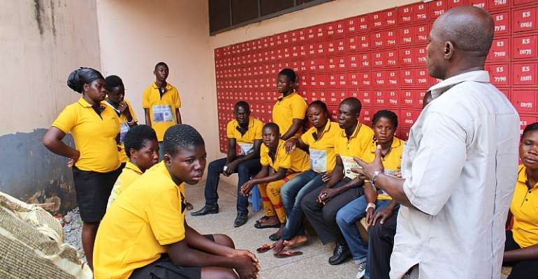 Memhrep Feeds Mental Health Patients At Chereponi In The Northern Part Of Ghana On World Mental Health Day