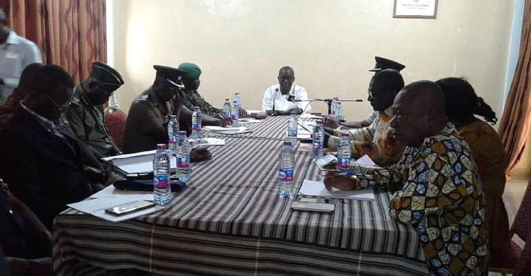 UW/R: Minister Inaugurates Regional Election Security Task Force