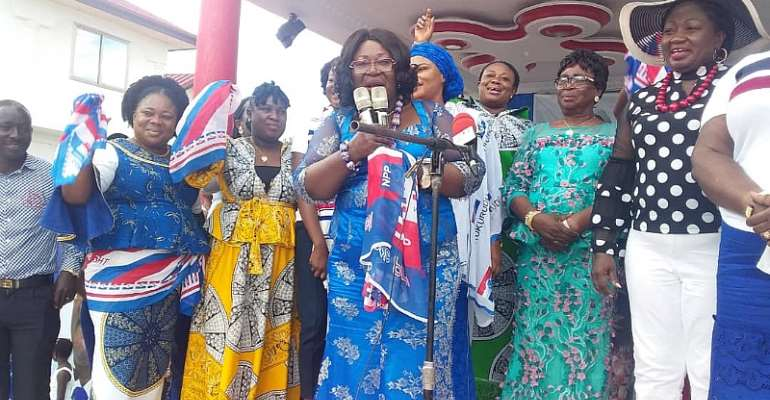 Lead 2020 Campaign – Chief Of Staff Charges NPP Women