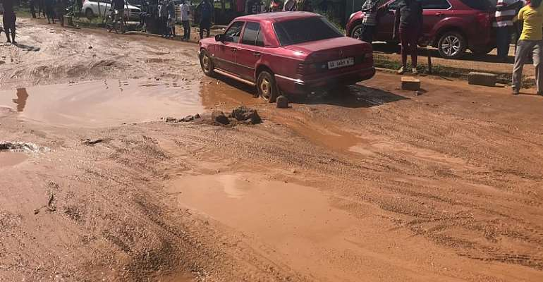 Ablekuma Manhean 'Trotro' Drivers Declare Strike Over Bad Roads
