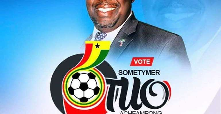 'Division One Players Must Be Paid Well', ExCo Candidate Sometymer Otuo Acheampong