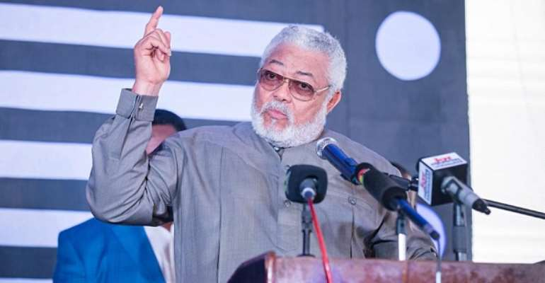 Jerry John Rawlings, former President of the Republic of Ghana