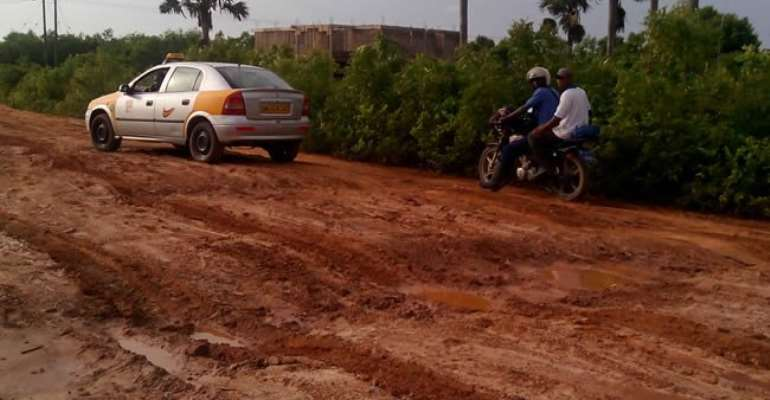 Minister Accuses NDC For Bad Roads In Ashanti Region