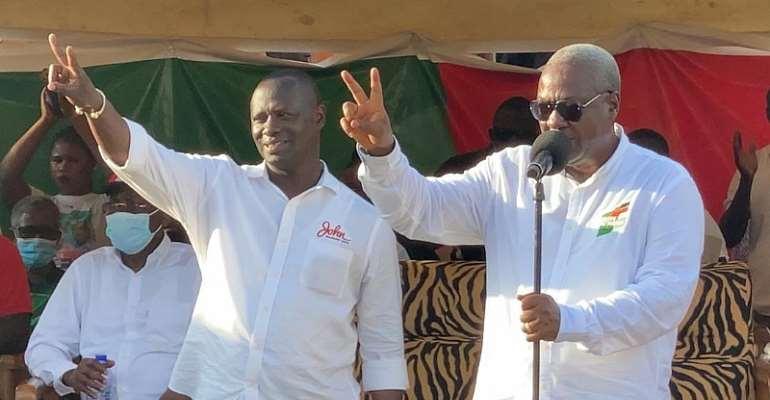 I'll Construct Atuabo Freeport – Mahama Tells Nzema Chiefs