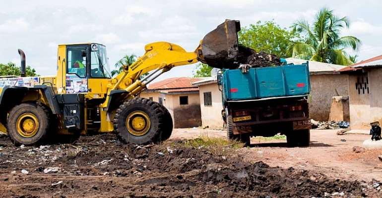 60-Year-Old  Dumpsites Evacuated In Ahafo Region