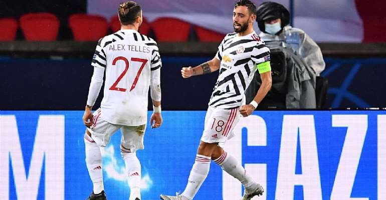 Bruno Fernandes Stars In Paris As Manchester United Pip PSG