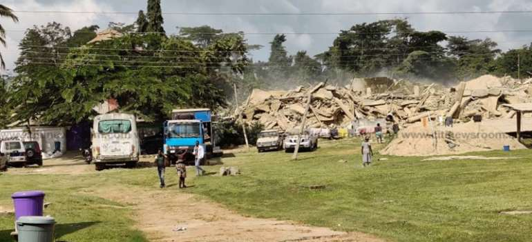 Church Collapse: Nine Confirmed Dead As Rescue Efforts Underway
