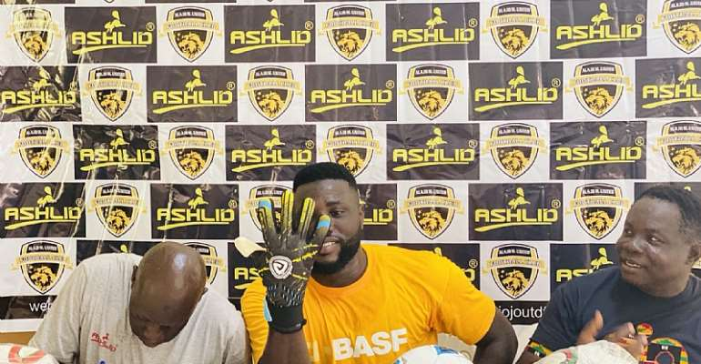 Goalkeeper Richard Attah Secure Sponsorship Deal With Ashlid Enterprise