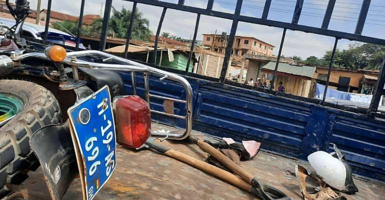 Kumasi: Two Die In Motor Accident At Abrepo