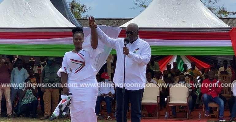 I'll Establish Petrochemical Industry In Bonyere — Mahama Promises