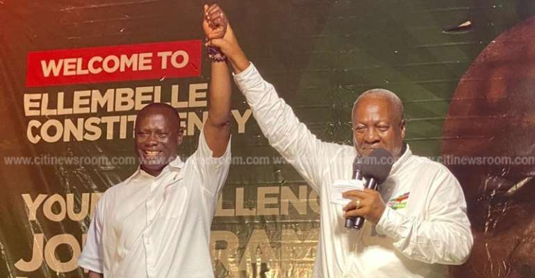 Mahama Promsies Ellembelle Modern District Hospital If Elected