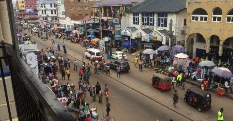Kumasi: Express Mix Reactions Over 2020 Presidential Candidates