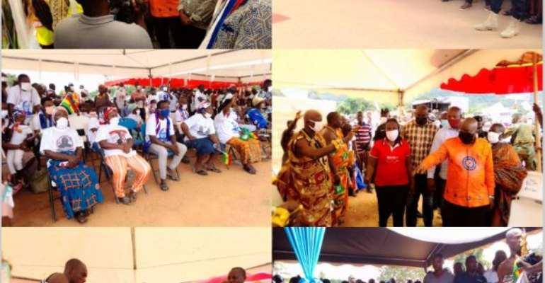 Akufo-Addo Inspects Road Projects In Oti Region