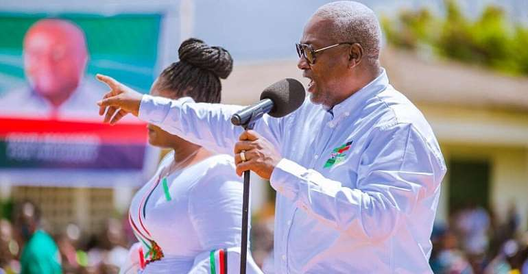 My Second Coming Will Focus On Skills Training, Jobs – Mahama Promises
