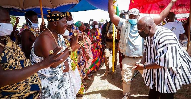 You've Fulfilled Most Of Your Manifesto Promises; Objective Ghanaians Can See Them — Chief Of Kajaji