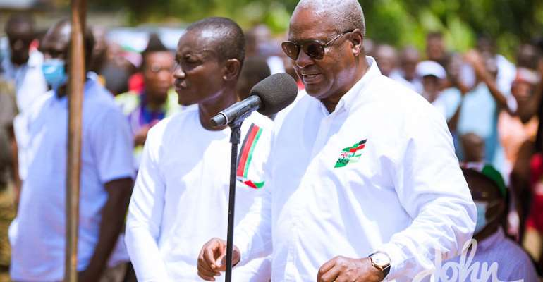 I'll Retrieve Your Money From NAM1 If Elected — Mahama Promises Menzgold Customers
